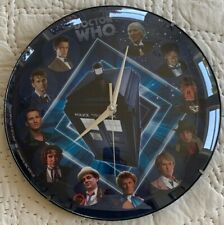 Doctor Who Wall Clock. Glass Face. Bbc Licensed. Made By Rabbit Tanaka. Nice!