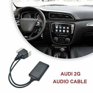 1x Pour AUDI A4 8T 8K 4F Q7 7L AMI MMI 2G USB AUX Adaptateur Câble Bluetooth