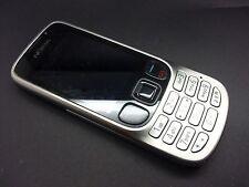 Nokia 6303 clásico-Plateado (Naranja) Teléfono Móvil