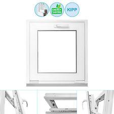 Kellerfenster Fenster Kippfenster 3 fach BxH 950x350 cm weiß Premium
