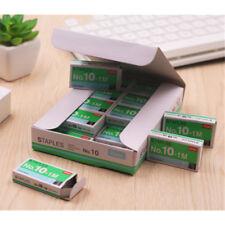 2 Box Staples No 10-1M 5mm Staples Box For Stapler Office Home School 2000pcs
