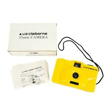 New ListingVintage Retro 35mm Reusable Film Camera Liz Claiborne Non-Disposable Point Shoot
