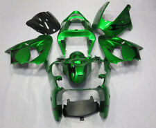 Green Fairing Kit for Kawasaki ZX6R 2000-2002 2001 ZX636 ABS Injection Bodywork
