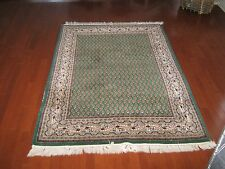 Area Rug ,4' X 6' , Indo Persian ,Transitional Rug ,Serraband Design , Pre Owned