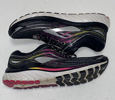 Brooks Womens Black Glycerin 15 Running Shoes Sneakers Trainers Sz 12M B great