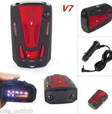 V7 Cobra 16Band Car Radar Detector Laser Speed Detector With English Russian Red
