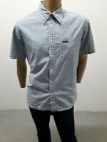 Camicia CALVIN KLEIN Uomo Shirt Man Chemise Homme Taglia Size L Cotone Polo 8343