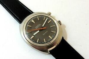 1967 GENTS STEEL OMEGA CHRONOSTOP 865 IN EXCELLENT NEAR MINT CONDITION.