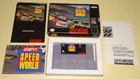 ESPN Speed World Super Nintendo SNES Complete CIB w/ Poster SAME DAY SHIPPING