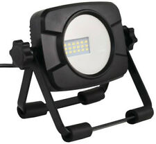 Power Zone O-C1-1000SS LED Work Light With Stand, Black, 1000 Lumens
