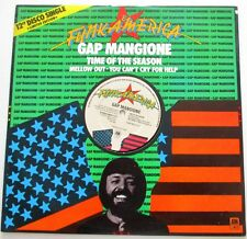 GAP MANGIONE TIME OF THE SEASON*MELLOW OUT & CRY FOR HELP A&M 1978 FUNK AMERICA