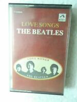 THE BEATLES LOVE SONGS 1991 RARE orig CASSETTE TAPE INDIA indian