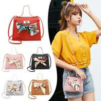 Women PU Leather Shoulder Bag Messenger Handbag Bags Summer Beach Purse Tote Lot