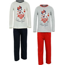 Pyjama Set nightclothes Girl Minnie Mouse Mouse Grey Blue 98 104 116 128 #21