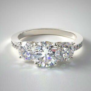 1.17 Ct IGI Certified Lab Grown Diamond Engagement Rings Platinum Size M N O P Q