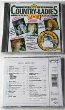 COUNTRY-LADIES LIVE  Dottie West, Lynn Anderson, Connie Smith,... CD OVP/NEU