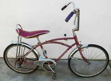 Vintage SEARS MUSCLE 5 Speed Bike Bicycle 1960's 1970's rare - restoration