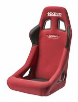 FIA Sparco Sprint Racing Rally Seat Tubular Steel Frame RED bucket Comfortable