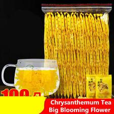 Organic Yellow Chrysanthemum Tea Big Blooming Flower Dry Herbal Health Herbs Tea