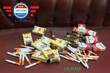 "1/6 Scale Cigar Cigarette Pack Set Paper Model For 12"" Action Figure"