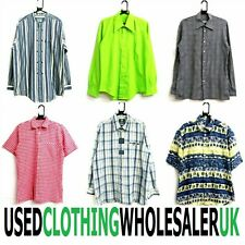 50 MEN'S GRADE B VINTAGE MIXED SHIRTS CLOTHING WHOLESALE SUSTAINABLE ECO JOB LOT