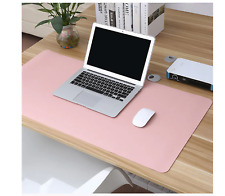 Large Leather Gaming Mouse Pad Double-sided Waterproof Office Kitchen Desk Mat