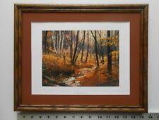 Robert Abbett LATE DAY WOODCOCK framed 11X14  3.5wfc630