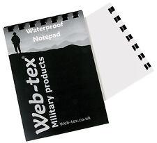 50 PAGE A6 POLICE SO19 FIREARMS WATERPROOF NOTEBOOK