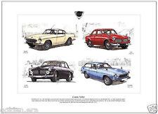 Volvo clásico-Fine Art Print tamaño A3-P1800 p1800es, 122s & 123gt Amazon Cars