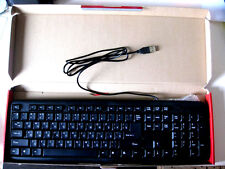 NEW USB Russian - English Wired keyboard compatible with PC Laptops Netbooks