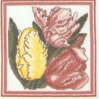 Tulips Counted Cross Stitch Kit - DMC Suttons Horticultural Heritage Range