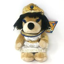 """FAO Schwarz Patrick Pup Cleopatrick Plush 14"""" Egyptian Dog in Costume w/ Tags"""