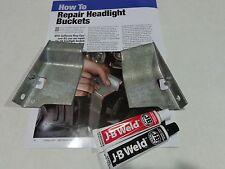 1964,1965,1966 Mustang HeadLight Bucket Repair Kit, Made in USA