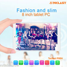 "8.0"" IPS Tablet PC Android 5.1 Quad Core GPS Teclast P80H Tableta 8GB WIFI OTG"