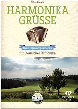 Steirische Harmonika Noten : Harmonika Grüsse - (Kumeth) m. CD  - GRIFFSCHRIFT
