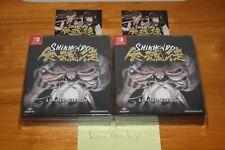Shikhondo: Soul Eater Edición Limitada (Interruptor) Nuevo Sellado W/Pegatina, ,