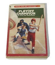 Playoff Champion #135 Moschzisker Choose Your Own Adventure Book CYOA Paperback