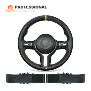 Leather Suede Steering Wheel Cover for BMW F30 F34 F22 F23 F32 F33 F36 F10 F07