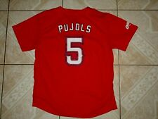 Albert Pujols #5 Los Angeles Angels Baseball Jersey Youth L