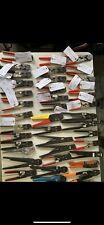 Large Lot Hand Crimp Tool Lot Molex Hirose Dmc Te Amp Etc