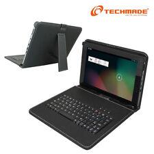 TECHMADE CUSTODIA CON TASTIERA PER TABLET 9 POLLICI ATTACCO MICRO USB PK-09AX