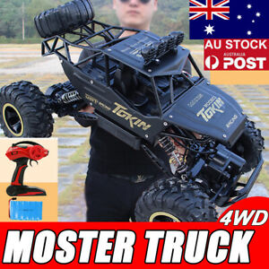 Electric Remote Control 4WD RC Monster Truck Off-Road Vehicle Buggy Car Gift AU