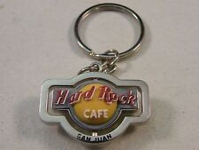 HARD ROCK CAFE SAN JUAN SPINNER KEY CHAIN