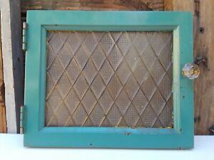 Antique 1920s American Cabinet Co Dental Mahogany Center Glass Door Complete