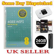 24GB EE Pre-Loaded Data SIM PAYG 3G/4G Tri-Sim Valid For One Year -Fast Internet