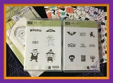 Stampin Up! Ghoulish Bundle . Kit, 2 Stamp Sets & Dsp .all New! Have Fun!