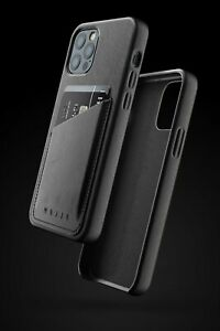 Mujjo Full Leather Wallet Case for iPhone 12 Pro