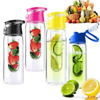 700ml Water Bottle Cup with Fruit Infuser Juice Infusion Healthy BPA-free Tritan