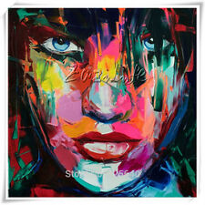 Francoise Nielly Face Palette Knife oil Painting wall art pictures home decor03