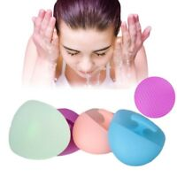 Facial Cleansing Soft Silicone Brush Skin Blackhead Pore Massager Scrub Face